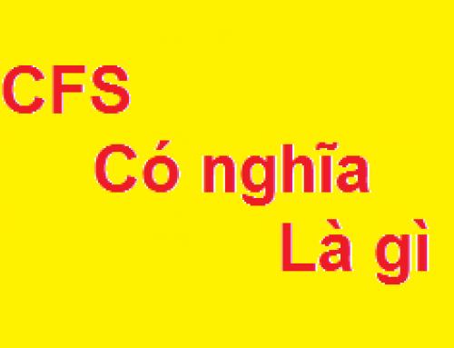 CFS là gì?