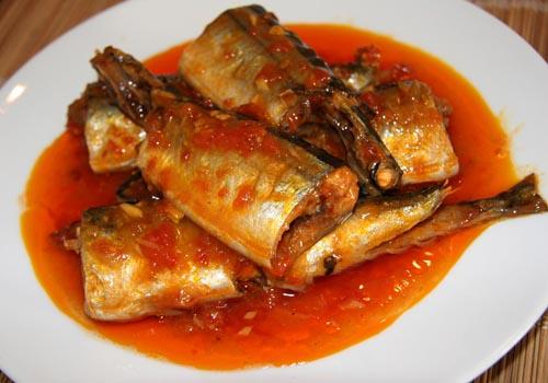 Hướng dẫn tự công bố chất lượng Cá nục sốt cà