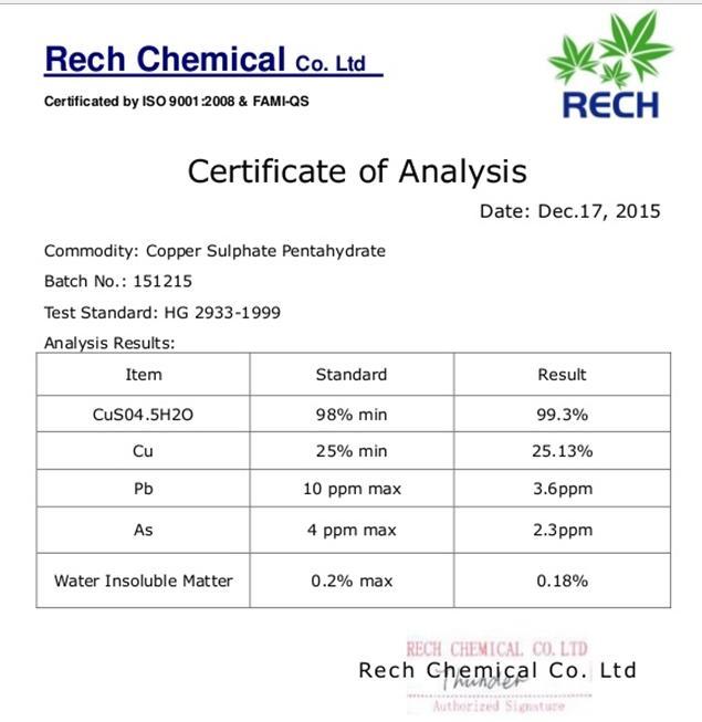 Bảng phân tích thành phần sản phẩm CA giúp cơ quan lý biết được sản phẩm có được phép lưu hành hay không