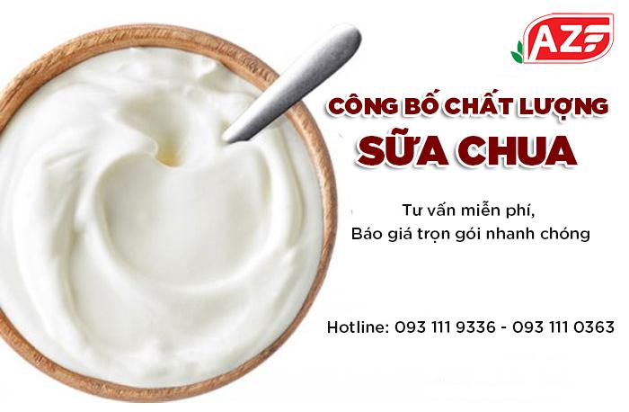 Hướng dẫn tự công bố Sữa chua - 093 111 9336