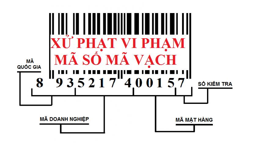 Xử phạt vi phạm mã số mã vạch