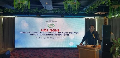 (PGS.TS. Nguyễn Thanh Phong, Cục trưởng Cục ATTP)