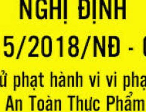 DANH SÁCH CÔNG TY VI PHẠM VỀ AN TOÀN THỰC PHẨM NĂM 2019 – ĐỒNG NAI (từ ngày 27/6/2019 đến 17/10/2019)
