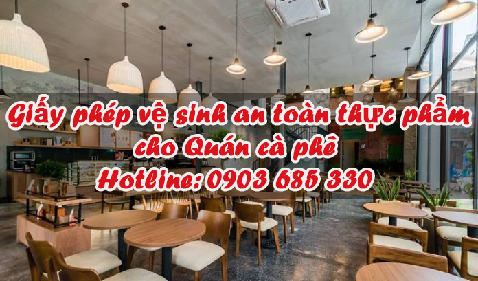 AZF xin giấy phép ATVSTP cho quán cà phê