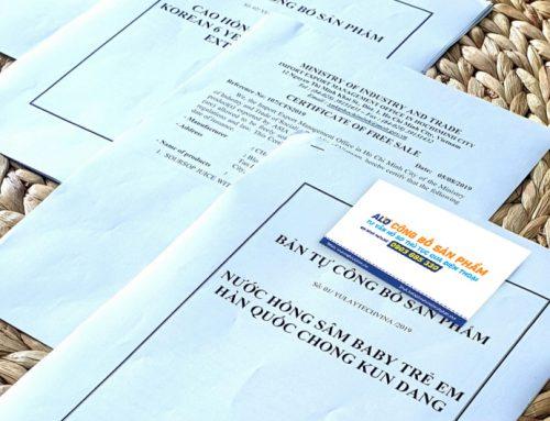 Chuẩn bị hồ sơ tự công bố sản phẩm theo Nghị định mới nhất