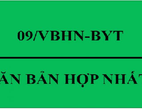 Thông tin hướng dẫn thực hiện tự công bố sản phẩm theo Nghị định số 15/2018/NĐ-CP và Văn bản hợp nhất số 09/VBHN-BYT
