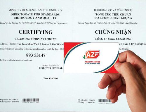 Hướng dẫn đăng ký Mã số mã vạch cho sản phẩm