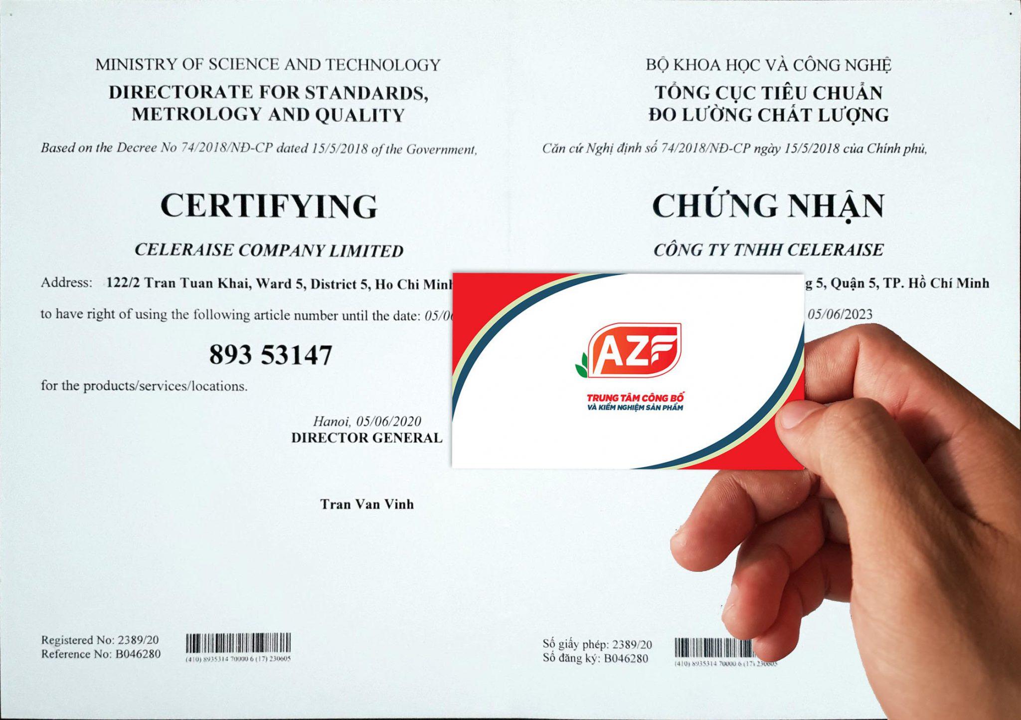 Hướng dẫn đăng ký Mã số mã vạch cho sản phẩm - 093.111.9336